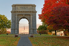 Memorial Arch At Valley Forge