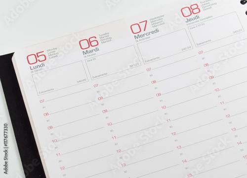 Fotografía  Agenda
