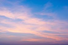 Fiery Orange Sunrise Sky. Beau...