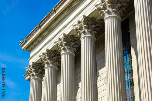 Federal Court buildings in Washington DC Wallpaper Mural