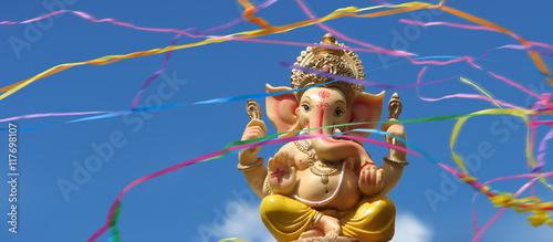 Ganesha - Ganesh Canvas Print