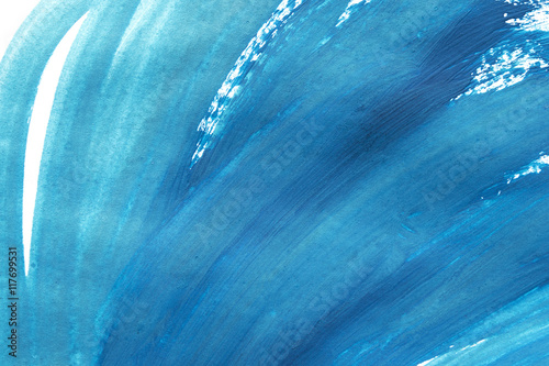 Fotografía Blue painting background