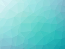 Abstract Teal White Gradient P...