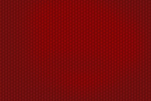Red Honeycomb Pattern For Background Texture