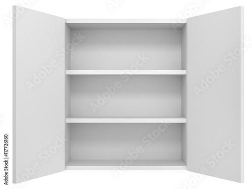 empty cupboard Canvas Print
