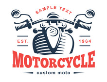 Motorcycle Logo Illustration. ...