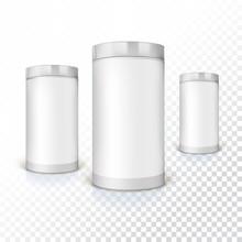 Set Of Round Tins, Packaging