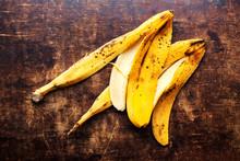 A Branch Of Rotten Ripe Banana...