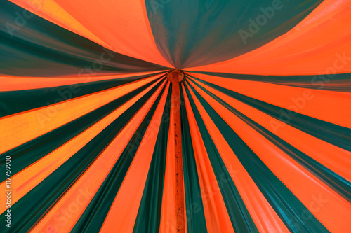 Valokuva  Circus tent / Abstract color background of circus tent.