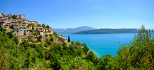 Sainte Croix Du Verdon Provence, Alpes, France - View Of The Place