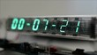 numerical digital display LED clock counter