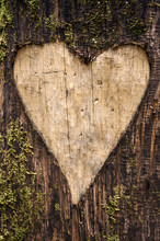 Heart-shaped Carving