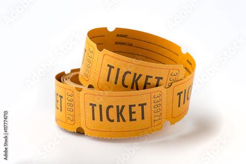 Fotografía  Vintage ticket stubs