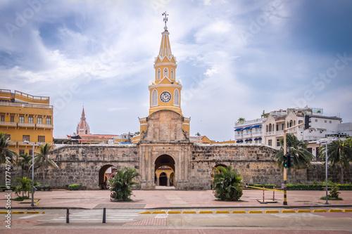 Clock Tower Gate - Cartagena de Indias, Colombia