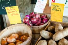 Farmers Roadside Produce Stand...