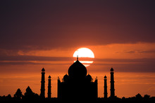 A Stunning Silhouette Of The T...