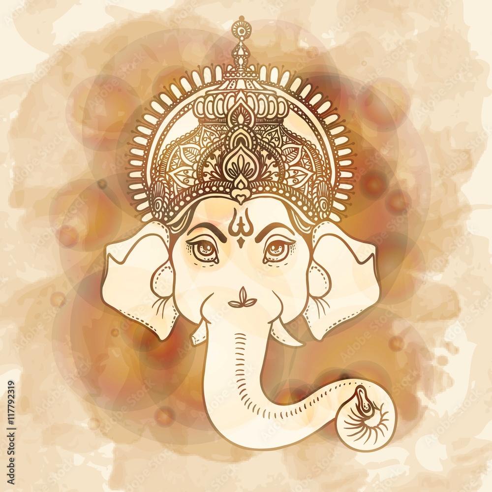 Fotografija  Hand painted Ganesha