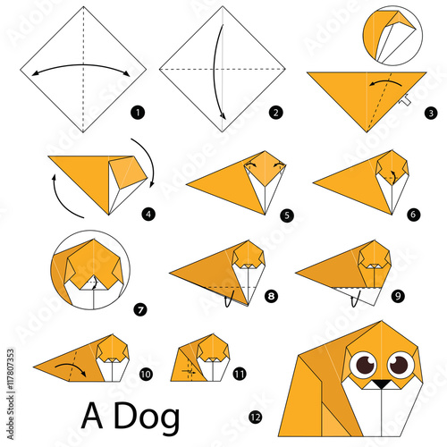 How to Make an Origami Dog - Easy Peasy and Fun | 500x500