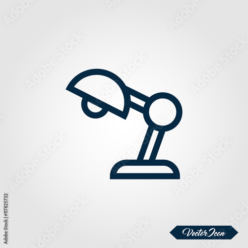 Superior Table Lamp Icon For Apps And Websites