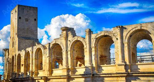 Photo Roman amphitheatre, Arles, France
