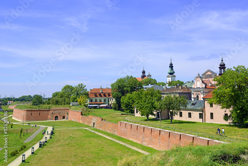 Fortification Fortifications around the city Zamosc. Zamosc Historical city centre was added to UNESCO World Heritage List as Pearl of Renaissance. Poland