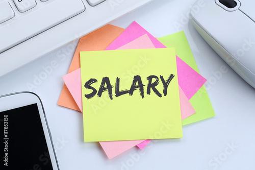 Valokuva Salary increase negotiation wages money finance business concept