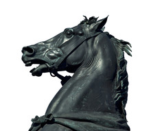 Horse Sculpture Detail