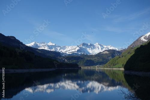 Papiers peints Morgenidylle am Lungernsee im Kanton Obwalden