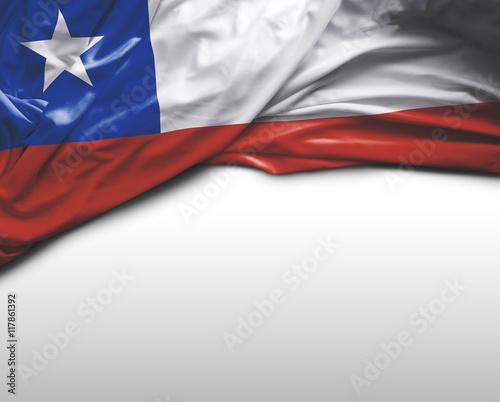 Papiers peints Amérique du Sud Chile flag