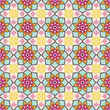 Fototapeta Kuchnia - Ethnic floral seamless pattern