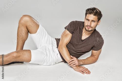 Photo  Sexy model posing
