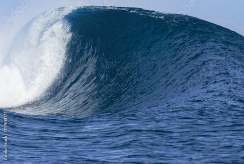 Keuken foto achterwand Water Beautiful Ocean Wave