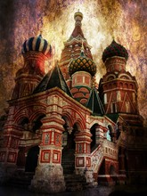 Basil The Blessed Cathedral Grunge Concept