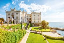 Miramare Castle With Gardens O...
