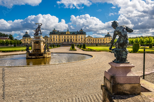 Photo  Drottningholm palace