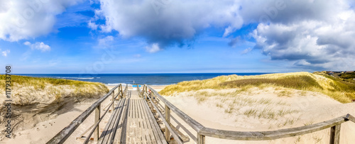 Garden Poster North Sea Sylt, Westerland, Strand,