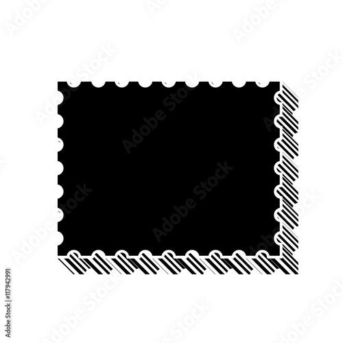 Fotografia, Obraz  ikona ze wzorku pasków i kresek