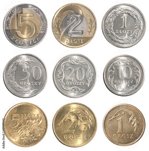 Pinturas sobre lienzo  Full set of Poland coin