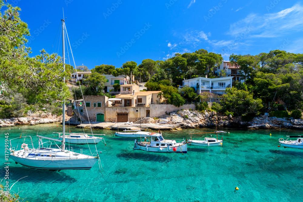 Fototapety, obrazy: Beautiful coast of Cala Figuera -  Spain, Mallorca