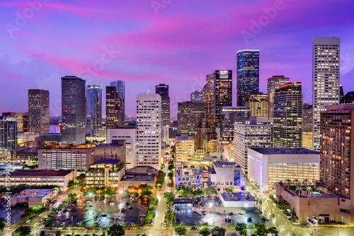 Aluminium Prints Texas Houston, Texas Skyline