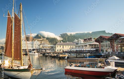 "Fotomural ""Waterfront"" in Kapstadt; Südafrika"