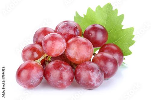 Foto  Trauben Weintrauben rot Früchte Frucht Obst Freisteller freiges