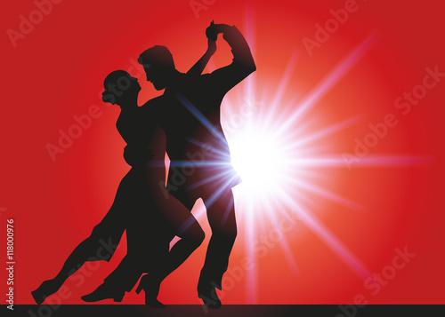 Danse - Tango Wallpaper Mural