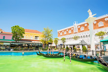 HUAHIN,THAILAND - April 7 : The Venezia Building Landmark Touris