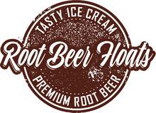 Vintage Root Beer Floats Desse...