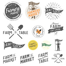 Vintage Farm And Farmers Marke...