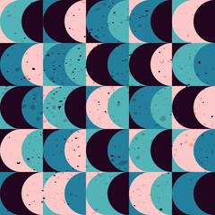 Fototapetaseamless vintage geometric pattern