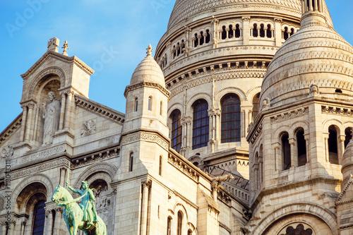 Sacre-Coeur Basilica (Basilica of the Sacred Heart) in Paris, France - 118043311