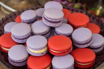 Obraz na Szkle Słodycze macaron, cookies, cake