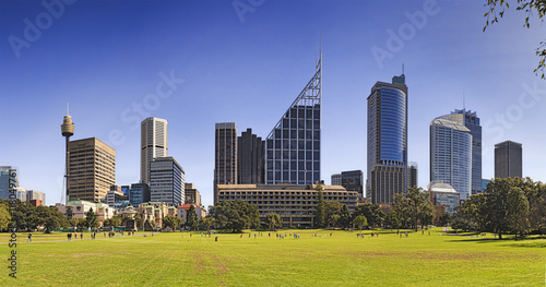 Sy CBD From Domain Day Canvas Print